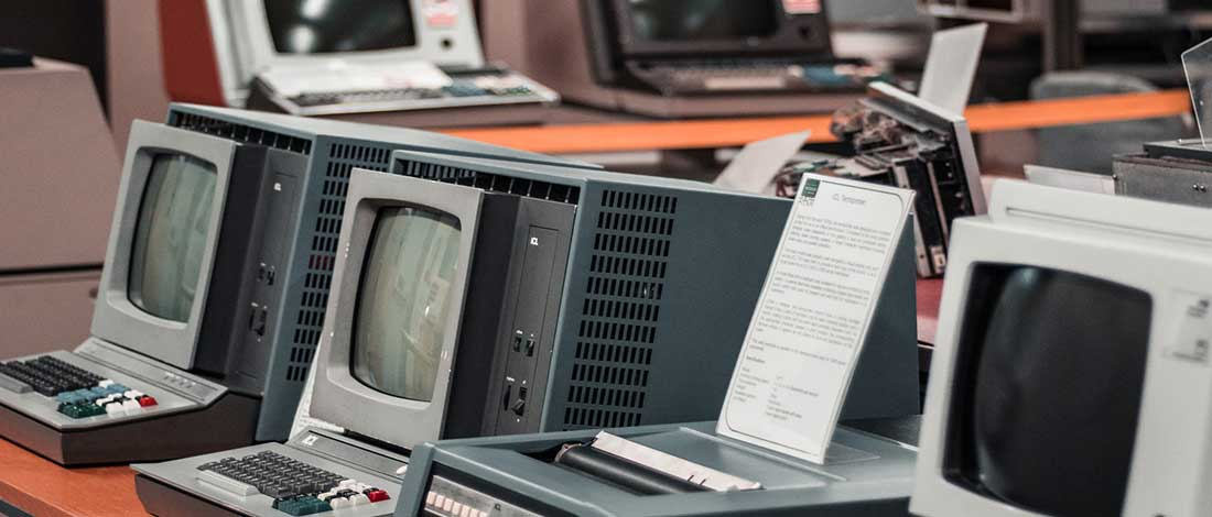 imagen de ordenadores antiguos